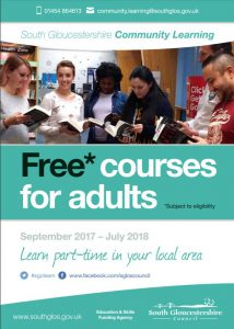 Adult courses in South Gloucestershire