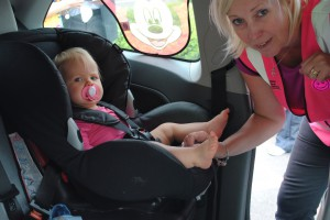 Police and council offer child car seat safety checks