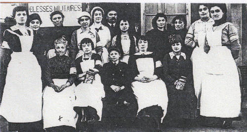 Women from Cesson during World War One