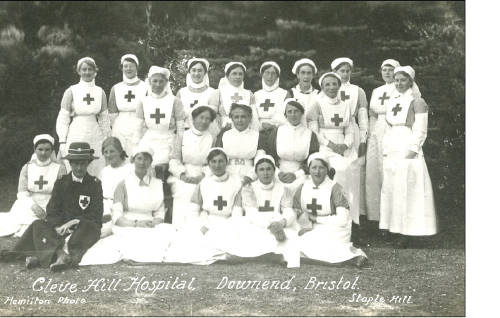 Nurses from Cleve Hospital