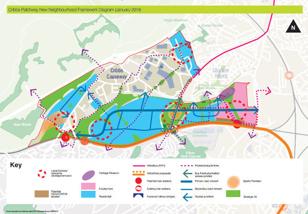 Cribbs Causeway Map About Cribbs Patchway new neighbourhood | South Gloucestershire