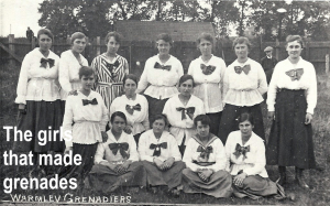 Women who made grenades