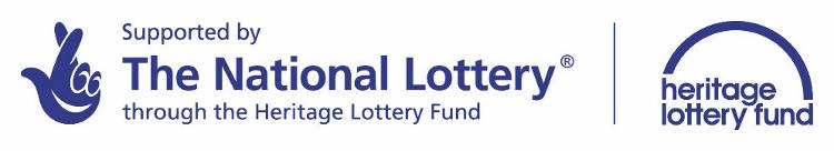 National Lottery and Heritage Lottery Fund logos