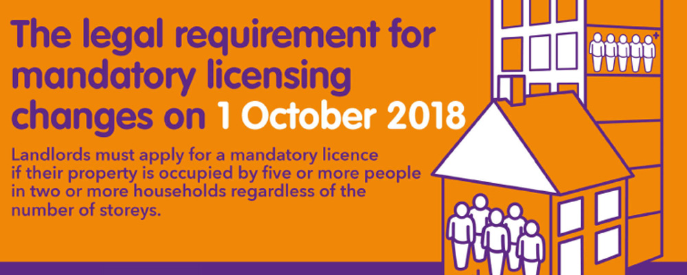 Licensing of houses in multiple occupation (HMO)