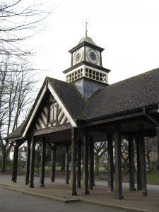 Page Park clock tower