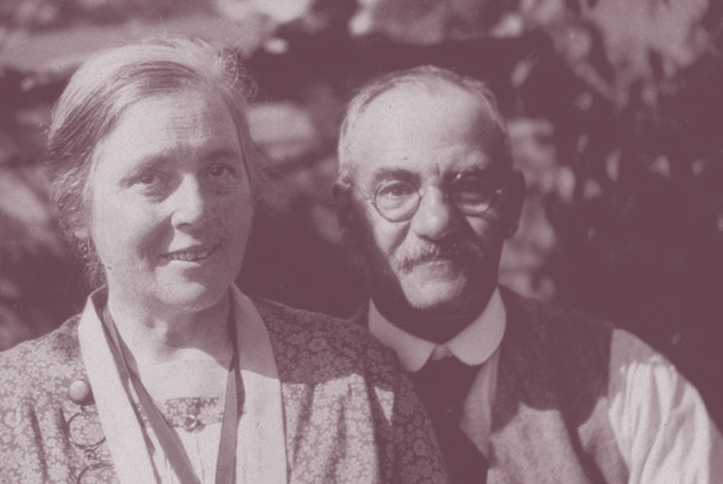 Samuel and Mabel Dennis were together for over 60 years - Thornbury Museum