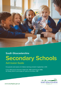 secondary school admissions south gloucestershire council