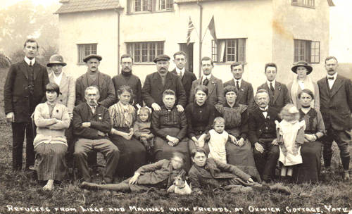 WWI Refugees at Oxwick