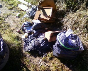 Winterbourne Fly Tip