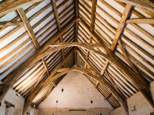 Winterbourne Barn ceiling