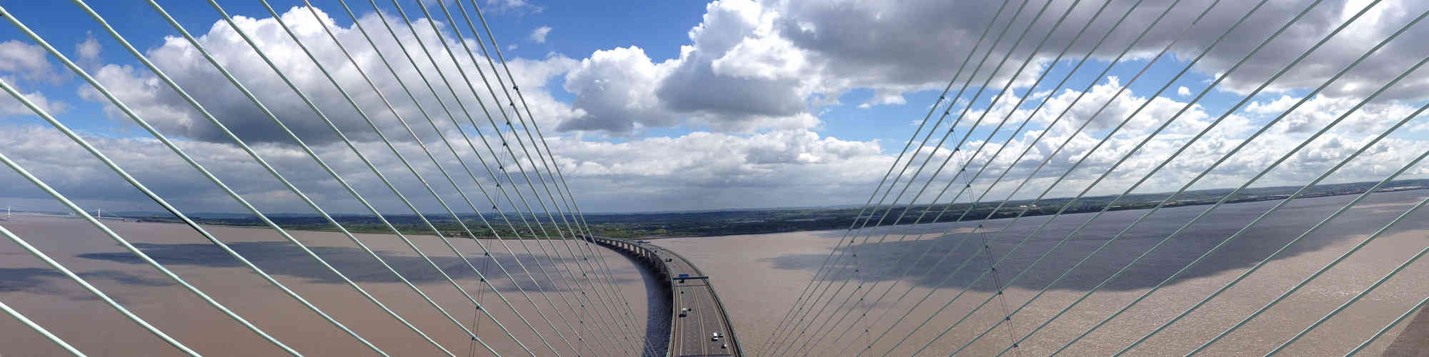 View from Severn Bridge